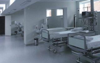 Нарвская больница, палата интенсивной терапии.