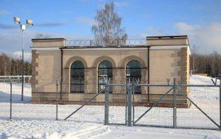 Балтийская ЭС, фасад насосной станции.