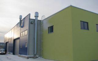 Производственно-бытовое здание Metalliset Eesti.