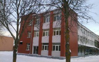 Реконструкция Sillamäe Gümnaasium.