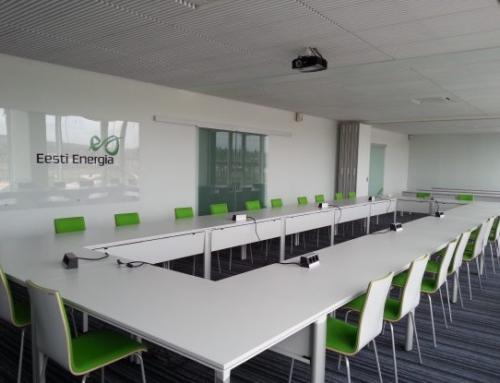 Реконструкция 2-го этажа столовой Эстонской Электростанции под зал заседаний