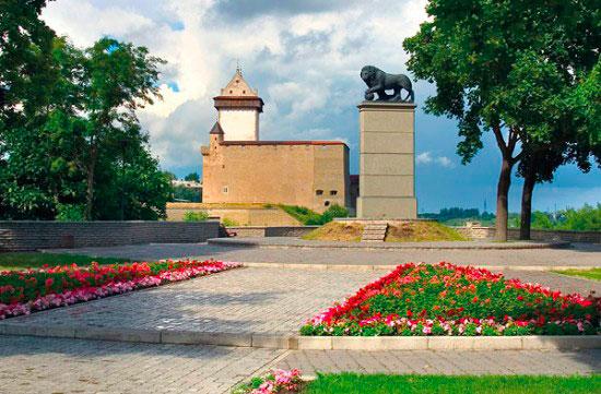Памятник «Шведский лев».